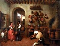en la cocina de la hacienda by manuel serrano