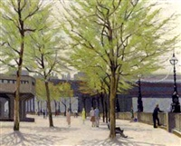 london south bank by william henry innes