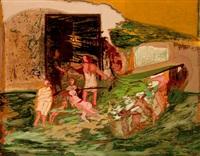 en la puerta de casa by francisco peinado