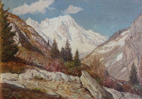 paysage de montagne by angelo abrate
