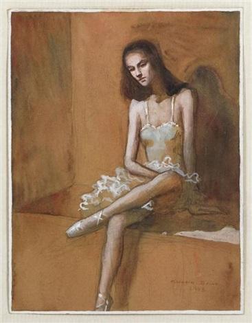 sin título bailarina by claudio bravo
