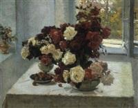 bouquet de roses by nikolai pavlovich tolkounov
