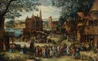 la kermesse d'hoboken ou la kermesse de saint georges by david vinckboons