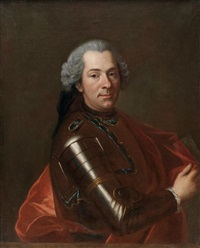 portrait d'henri françois gerbold, marquis de sailly by louis de fontaine
