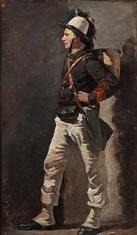 an italian bersaglieri by mariano fortuny y de madrazo