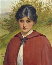 little red riding hood by charles sillem lidderdale