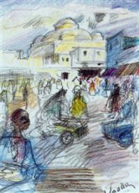place bab-souika by henri saada
