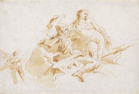 mars and venus by giovanni battista tiepolo