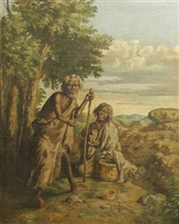 beggars by henri ratova