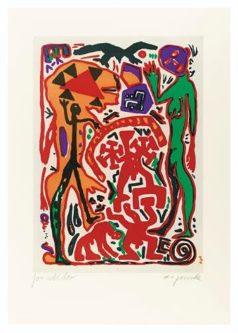 aus der kindlichen in die pubertare phase 4 others 5 works by ar penck