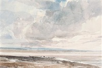 morecambe sands by oliver hall