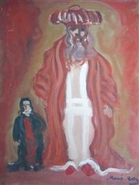 les deux religieux by mané-katz