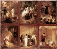 scenes from shakespeare by robert smirke