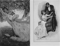 girl in hammock by clara d. davidson