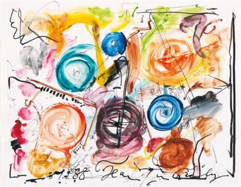 ohne titel untitled by jean tinguely