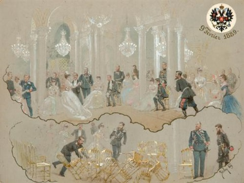 alexander iii at the winter palace ball by mihály von zichy