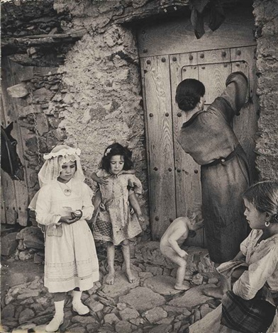 first communion (from spanish village) by w. eugene smith