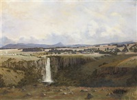 village of howick and umgeni falls. 360 ft by cathcart william methven