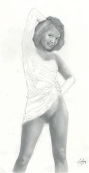jeune fille 2 by aslan