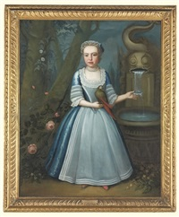 portrait of elizabeth kettle by john smibert