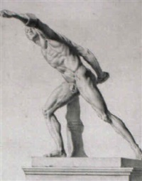 the borghese gladiator by giovanni domenico campiglia