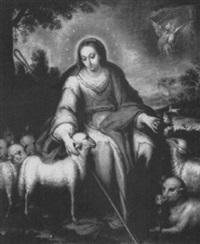 la divina pastora by domingo martinez