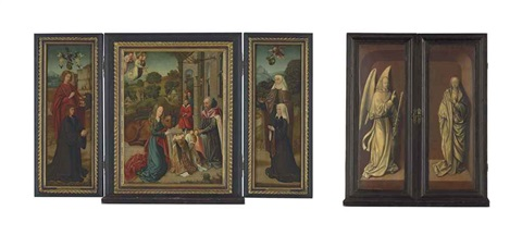 untitled triptych by flemish school 16
