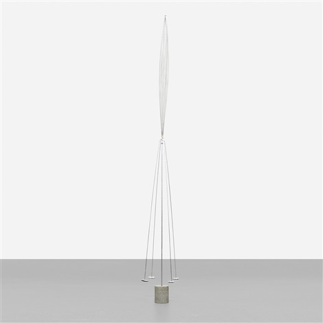 untitled balancing form by harry bertoia