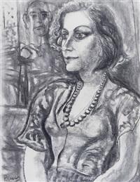 dama con collar by leopoldo presas