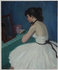 a ballet girl by helge helme