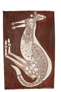 kolobarr, the plains kangaroo by lofty narbardayal nadjamerrek