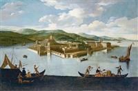 veduta dell'isola bella by francesco battaglioli