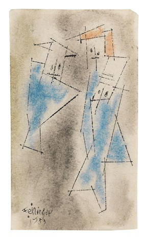 ghosties by lyonel feininger