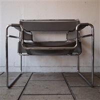 2 fauteuils, modèle vassily (set of 2) by marcel breuer