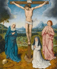 the crucifixion by aelbrecht bouts
