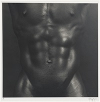 charles bowman (from portfolio z) by robert mapplethorpe