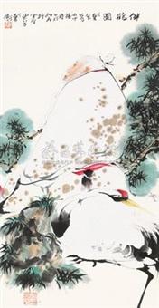 伴鹤图 by dai wei