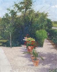a summer garden by brett mcentaggart