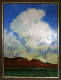 Mounting clouds, 1968