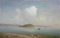 lake sevan by georgiy zakharovich bashinzhagyan