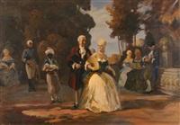 an aristocratic outing by anatollo sokolov