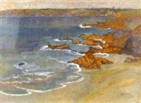 la mer à kerfany by fernand jobert