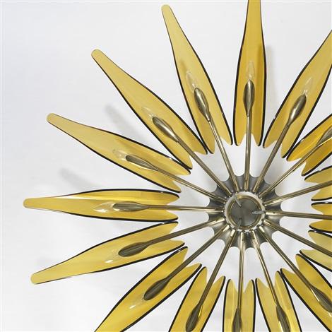 dalia chandelier model 1563a by fontana arte