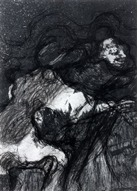 goya série n°23 by arnulf rainer
