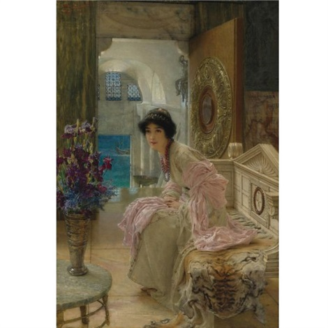 watching and waiting by sir lawrence alma tadema