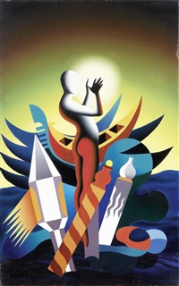 the sphere of intuition by mark kostabi