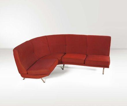 divano ix triennale con struttura by marco zanuso on artnet