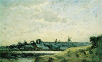 paysage printanier by alphonse asselbergs