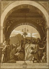 die beschneidung im tempel (after veronese) by john baptist jackson
