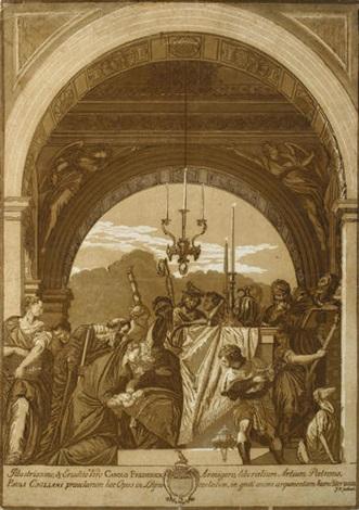die beschneidung im tempel after veronese by john baptist jackson